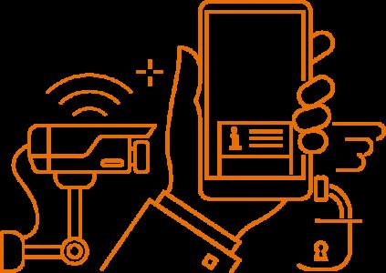 Smartphone Integration Orange